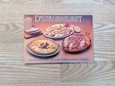 Diet for a healthy heart cookbook