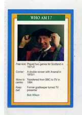 (Jm931-100) RARE,Q.O.S Who Am I ,Bob Wilson ,Soccer 1994 MINT