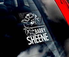 Barry Sheene #7- Car Window Sticker - Superbike World Motorbike Suzuki Sign - V1