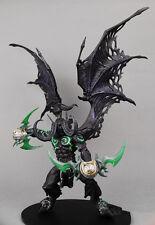 World of Warcraft Demon Form illidan Stormrage Toy Figure Doll 100% New