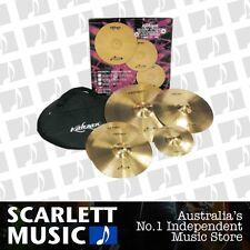 "Kahzan Bullet Cymbal Pack 14""/16""/20"" w' Bonus Cymbal & Bag *Brand New*"