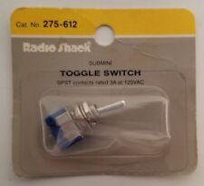 1 Radio Shack SPST SUB MINI TOGGLE  switch 3A 125VAC