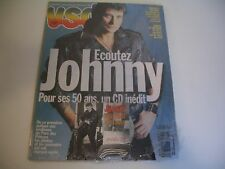 JOHNNY HALLYDAY VSD NUMERO SOUVENIR NEUF POUR SES 50 ANS UN CD INEDIT.JUIN 1993.