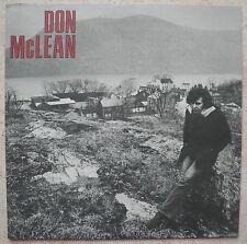 DON McLEAN  (Vinyle 33t / LP) 1972 - Pressage US - US Pressung