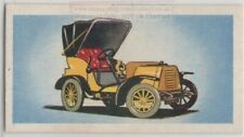 1904 Siddeley Antique Auto Car c55+ Y/O Trade Ad Card