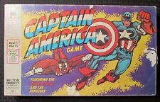 1977 CAPTAIN AMERICA Milton Bradley 4803 Board Game Complete in C-3 Box