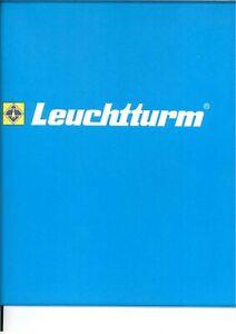 Leuchtturm Vordruck Bund 2006 BRD Deutschland SF - Klarsichttaschen - unbenutzt