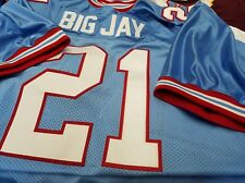 #00 Houston Oilers Football Jersey  Your Name&Number sewn-on.