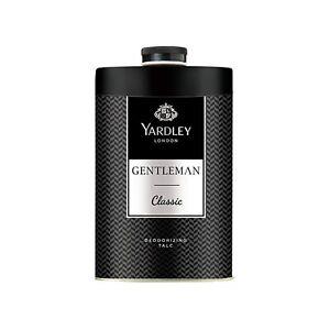 Yardley London Gentleman Classic Deodorizing Talc For Men,Long-Lasting Freshness