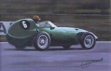 Tony Brooks Vanwall VW7 Goodwood Racing Car Art Print