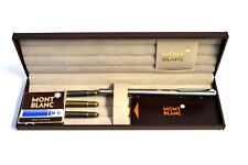 Vintage Mont Blanc Fountain Pen, With Case/Refills and Manual - Unused - Germany