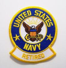 United States Navy Retired Sailor Embroidered Military Patch Iron or Sew AKPM123