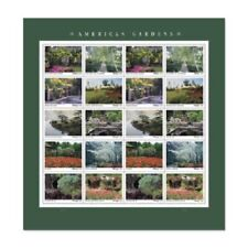 American Gardens sheet of 20 Stamps