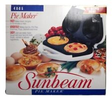 Sunbeam Pie Maker Model 4805 NEW IN THE BOX