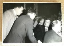 JFK JOHN F KENNEDY ORIGINAL PHOTOS  STATLER HILTON HOTEL BOSTON VISIT 10/9/1959