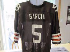 JEFF GARCIA Cleveland Browns Autographed Reebok Equipment NFL Jersey XL