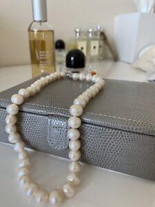 vintage natural pearl necklace