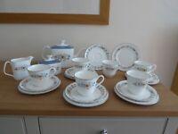Royal Doulton Pastorale 21 Piece Tea Set