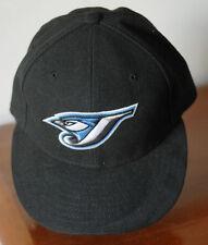 TORONTO BLUE JAYS black cap size 7 Performance Headwear On Field Cap