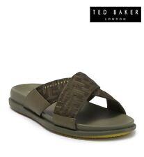 $100 Ted Baker London Men's Cross Strap Slide Sandal