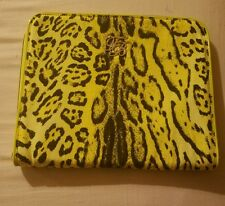 New Ted Baker reptile print iPad case, canvas, green SOLD OUT $90