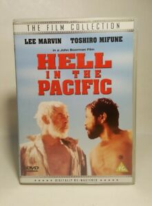 Hell In The Pacific, (1969) DVD Lee Marvin, Toshiro Mifune,  UK R2 DVD