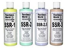 Poorboys SSR Kit completo incluyendo 1/2/2.5 / 3 SUPER Remolino Remover