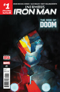 Infamous Iron Man #1 NM 1st Appearance A.I. Tony Stark Doctor Doom 2016 Marvel