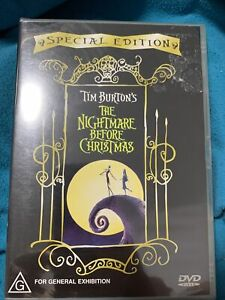 Tim Burton's The Nightmare Before Christmas - Special Edition (DVD R4)