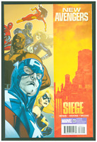 New Avengers #64 VF/NM Marvel Comics 2010 Captain America Cover Siege