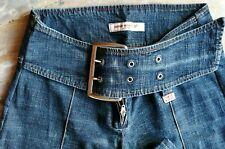 Jeans MISS SIXTY Originale tg.28 con cinturone, VINTAGE
