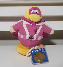 PINK CLUB PENGUIN SERIES 12 SUPERHERO SOFT TOY PLUSH TOY 19CM TALL!