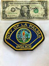 La Palma California Police patch Un-sewn great condition