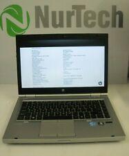 "HP Elitebook 8460p 14"" Core i7 2.2GHz 8GB/160GB DVDRW Webcam Linux Laptop + AC"
