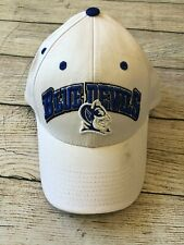 NWOT Duke Blue Devils NCAA Baseball Cap Hat Top of the World White Blue Stitched