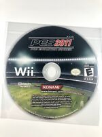 FREE SHIPPING! PES 2011 Pro Evolution Soccer (Nintendo Wii, 2010) DISC ONLY VG