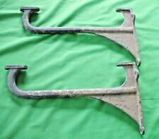 Pair of old reclaim salvage antique vintage BARDIC Cast Alloy Belfast Sink