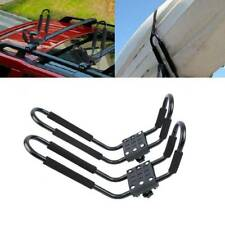 Heavy Duty Kayak Canoe Carrier Car Roof Rack Double J Bars and Straps