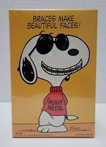 "Vintage 1971 SPRINGBOK PUZZLE SNOOPY ""BRACES MAKE BEAUTIFUL FACES!"" 100 pieces"