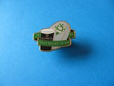 1995 Irish Rugby Team Guinness Pin Badge. VGC. Unused. Rugby Ball.
