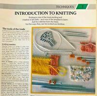 Knitting Patterns-Techniques-DK-Aran-Motifs-Crochet-Crafts-Embellishment-New