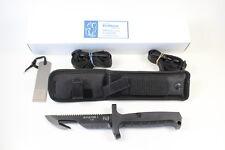 NEW German Eickhorn Survival Combat Knife Aviator I. With Special Leg Sheath !!!