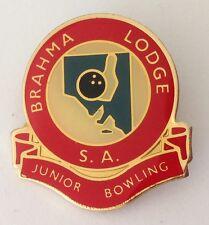 Brahma Lodge South Australia Junior Bowling Club Badge Pin Lawn Bowls (K2)