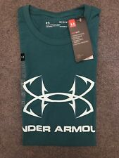 Under Armour * UA Fish Hook Sportstyle Tshirt Bluegreen Medium COD PayPal