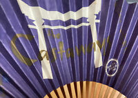 Vintage Florida Castaways Nightclub Menu Fan Hawaiian Party Night Purple Retro