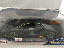 Lamborghini Centenario 1:18 Diecast Model Car Rare Brand New In Dark Grey
