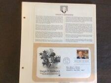 Dwight D. Eisenhower Supreme Commander First Day Of Issue 1990 Abilene KS
