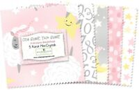 """24-5"""" SQUARES~ONE SHEEP TWO SHEEP Wilmington FABRIC~""""CHARM PACK""""~MINI-CRYSTALS"""