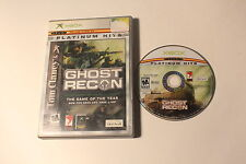 Xbox -Tom Clancy's Ghost Recon NO manual