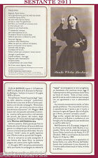 1 SANTINO HOLY CARD SANTA CLELIA BARBIERI MINIME ADDOLORATA LE BUDRIE PERSICETO